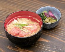 Ochazuke(rice with tea)