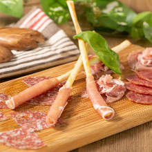 Assorted prosciutto and salami