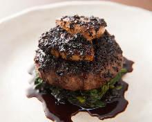 Beef hamburg steak
