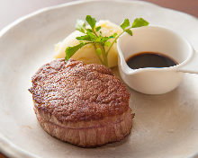 Wagyu beef loin steak