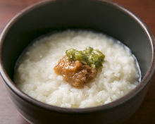 Okayu (rice porridge)