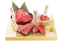 Assorted yakiniku, 4 kinds