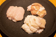 Assorted offal, 3 kinds