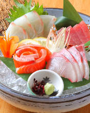 Assorted sashimi, 4 kinds
