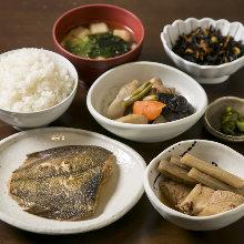 Obanzai meal set