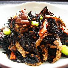 Simmered hijiki seaweed