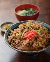 Beef Kalbi (short ribs) rice bowl