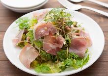 Raw ham salad