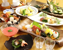 9,200 JPY Course (8 Items)