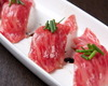 Kobe Beef Broiled Hand-Shaped Sushi – 2 pieces