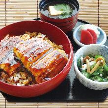 Large eel rice bowl