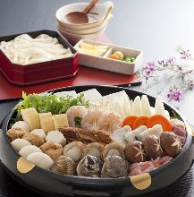 Udon-suki hot pot