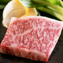 Wagyu beef steak