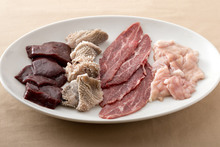Assorted organ meats