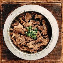Wagyu kamameshi (pot rice)