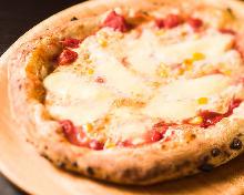 Corn bambino pizza