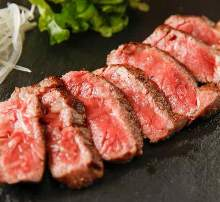 Wagyu beef sirloin steak