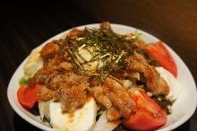 Slow-poached egg salad