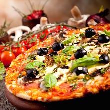 Pescatora pizza