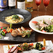 3,700 JPY Course (6 Items)