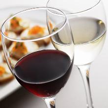 Glass of wine white