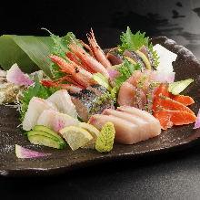 Botan shrimp sashimi