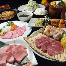 4,500 JPY Course (10 Items)