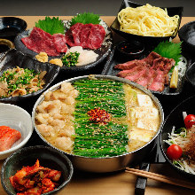 3,480 JPY Course (7 Items)