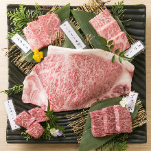 Assorted wagyu beef, 5 kinds
