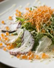 Seafood Carpaccio salad