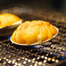 Grilled sea urchin