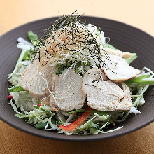 Steamed chicken salad