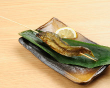 Salted and grilled sweetfish