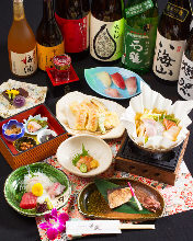 4,400 JPY Course (8 Items)
