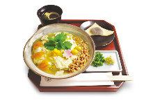 Yuba (tofu skin) rice bowl