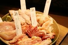 Assorted locally raised chicken