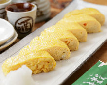 Japanese-style rolled omelet