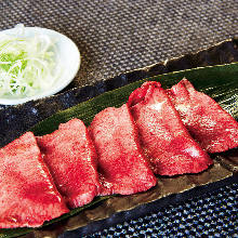 Tan shio (salted tongue)