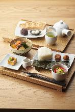 Rice ball set meal