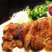 Seared pork