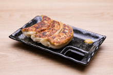 Jumbo grilled gyoza