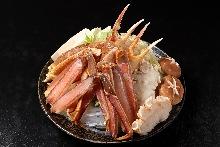 Crab hotpot