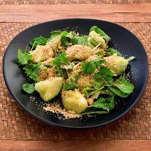 Avocado tempura