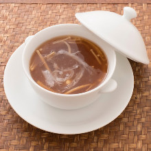 Shark fin soup