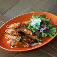Fried chicken wing tips