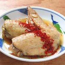 Tender chicken wing tips