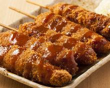 Fried skewer / Cutlet skewer