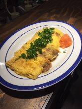 Egg Rools with Beef Tendon