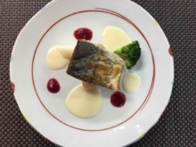 White fish poele