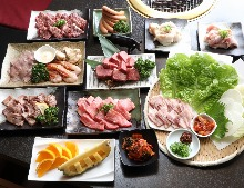 3,700 JPY Course (15  Items)
